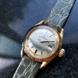 TUDOR Ladies 18K Gold Princess Oysterdate ref.7982 Automatic, c.1965 MS195GRY