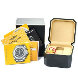 Breitling Bentley Motors Bronze Dial Steel Mens Watch A25362 Box Papers