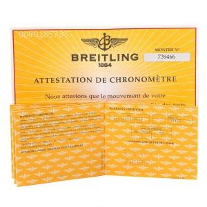 Breitling Bentley Motors Bronze Dial Steel Mens Watch A25362 Box Papers