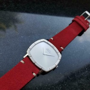Men's 18k White Gold Piaget cal.12P1 Automatic Dress Watch c1970s Swiss LV861RED