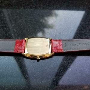 Men's Piaget ref.9591 30mm 18k Gold Manual Wind Ultra-Thin, c.1970s LV833RED