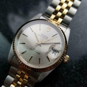 Men's Tudor Prince Oysterdate 74033 34mm 18k & ss Automatic, c.1990s LV920