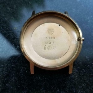 TISSOT Men's 18K Rose Gold Visodate Seastar Seven, c.1970s 35mm Swiss MS179