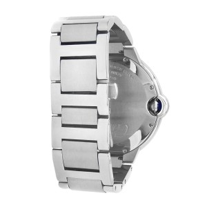 Cartier Ballon Bleu Stainless Steel Automatic Silver Men's Watch W69012Z4