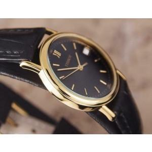 Tissot Swiss Made Unisex 31mm Quartz Gold Plated c2000 Luxury Dress Watch DSI30