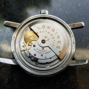 Longines Men's Conquest 1960s 35mm 9024 Automatic 24J w/Date Swiss Vintage LV592