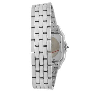 Cartier Panthere Stainless Steel Quartz White Ladies Watch W25032P5