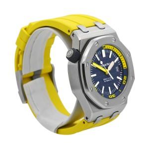 Men's Audemars Piguet Royal Oak Offshore Diver 42 Blue dial 15710ST.OO.A027CA.01
