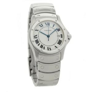 Cartier Santos De Cartier 1561 1 Steel 30mm  Watch