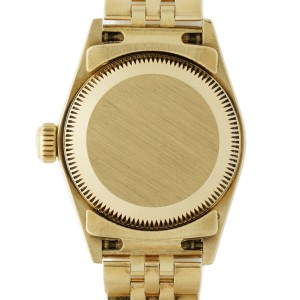 Rolex Oyster Perpetual 67197 Gold 24mm Women's Watch