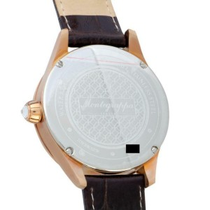 Montegrappa Cash IDF$WARW Steel  Watch