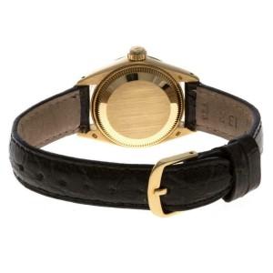Rolex Datejust 6917 Gold 25.0mm Women's Watch