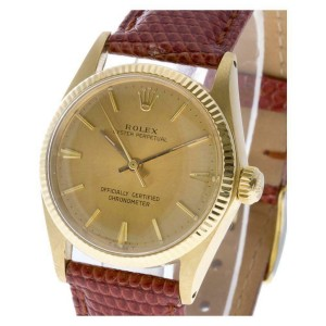 Rolex Oyster Perpetual 6551 Gold 30.0mm  Watch