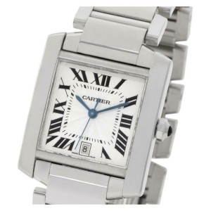 Cartier Tank Francaise W50011S3 Gold 32.0mm  Watch