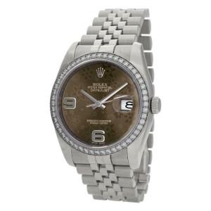 Rolex Datejust 116244 Steel 36.0mm Women's Watch