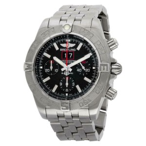 Breitling Blackbird A44360 Steel 45.0mm  Watch