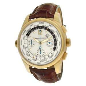 Girard Perragaux World Time 49805 Gold 43.0mm  Watch