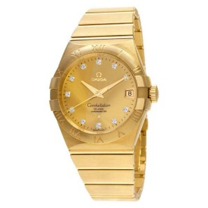 Omega Constellation 123.50.3 Gold 38.0mm  Watch