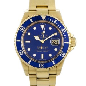 Rolex Submariner 116618 Gold  Watch