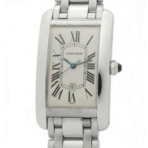 Cartier Tank Americaine  W26055L1 Gold 27mm  Watch