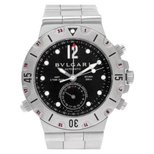 Bvlgari Diagono SD 38 S Steel 38.0mm  Watch