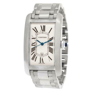 Cartier Tank Americaine  W2605511 Gold 45.0mm  Watch