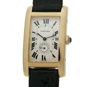 Cartier Tank Americaine  8012905 Gold 23mm  Watch