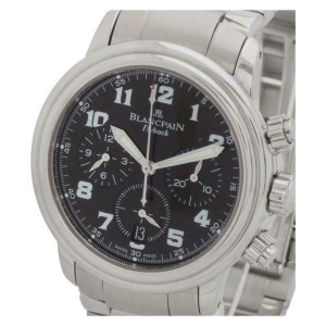 Blancpain Chronograph Flyback 2185F-11 Steel 38.0mm  Watch