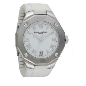 Baume & Mercier Riviera 65575 Steel 38.0mm Women's Watch