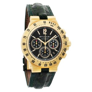 Bvlgari Diagono CH40GTA Gold 40.0mm  Watch