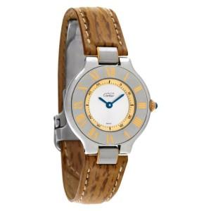 Cartier Must 21 1340 Steel 28.0mm  Watch
