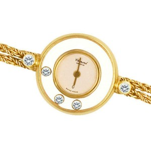 Chopard Happy Diamonds 4049 Gold 21.0mm Women's Watch