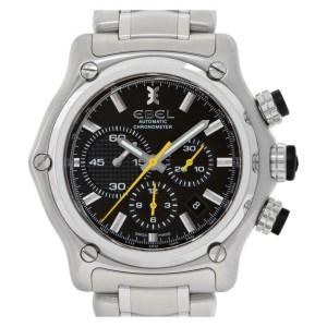 Ebel Brasilia Chronograph E9137L72 Steel 46.0mm  Watch