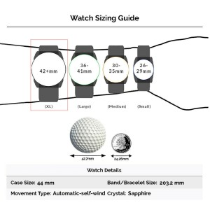 Iwc Pilot IW3261-0 Gold 44mm  Watch