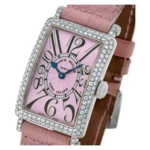 Franck Muller Long Island 902 QZ D Gold 32.5mm Women's Watch