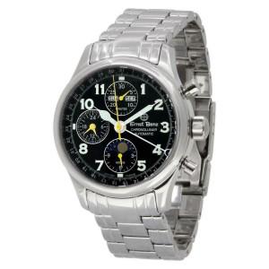 Ernst Benz Chronolunar GC20312A Steel 40.0mm  Watch