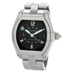 Cartier Roadster W62002V3 Steel 38.0mm  Watch