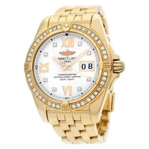 Breitling Galactic H49350 Gold 41.0mm  Watch