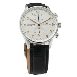 Iwc Portuguese IW371401 Steel 41mm  Watch