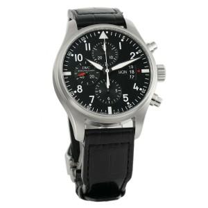 Iwc Pilot IW377701 Steel 43mm  Watch