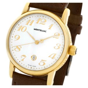 Montblanc Meisterstuck 7008 Gold 31.0mm  Watch
