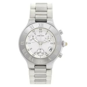 Cartier Must 21 W10184U2 Steel 38.0mm  Watch