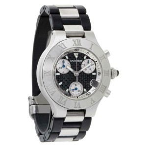 Cartier Pasha W31018H3 Steel 38.0mm  Watch