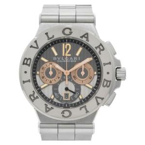 Bvlgari Diagono Calibro 303  DG 42 SW Steel 52.0mm  Watch