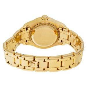 Rolex Pearlmaster 80318 Gold 27.5mm Women's Watch