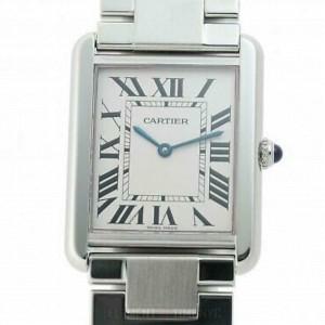 Cartier Tank Solo W5200014 Steel 27.0mm  Watch