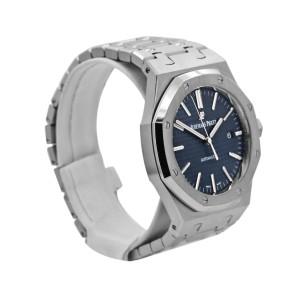 Men's Audemars Piguet Royal Oak Selfwinding 41, Blue dial, 15400ST.OO.1220ST.03