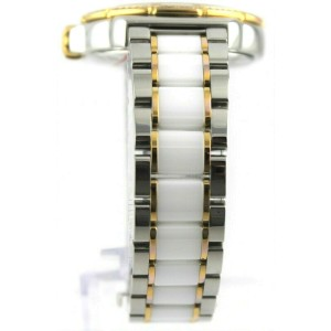 MINT TAG HEUER FORMULA 1 DIAMOND WAH1221.BB0865 TWO TONE CERAMIC LADIES WATCH