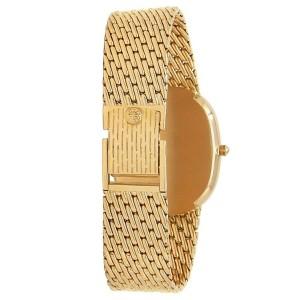 Patek Philippe Golden Ellipse 18k Yellow Gold Automatic White Men's Watch 3738