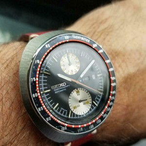 Mens Seiko Yachtman ref.6138 40mm Day Date Automatic Chronograph, 1970s GG42RED